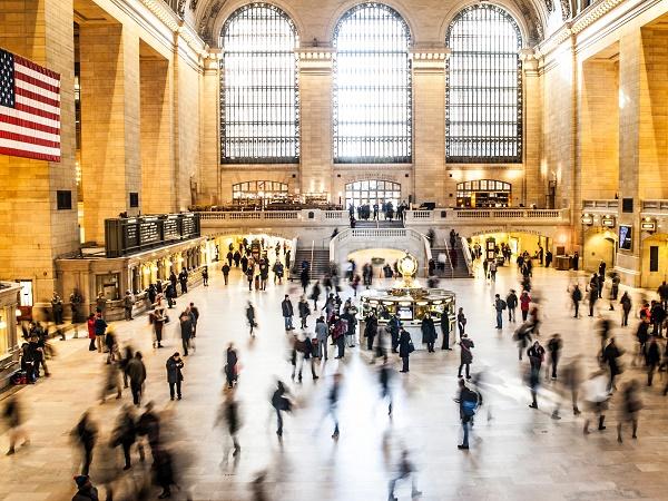 Le grandi stazioni possono essere destinazioni o tappe dei nostri viaggi, come la Grand Central Station di New York City.