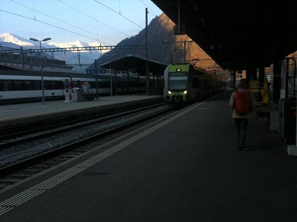 Il Trenino Verde delle Alpi ha strutture nuove, spaziose con grandi finestrini e molti posti per poter trasportare le biciclette.