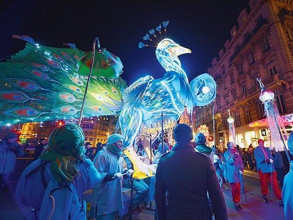 Il Lione Fêtedes Lumières è diventato il festival più importante della città.
