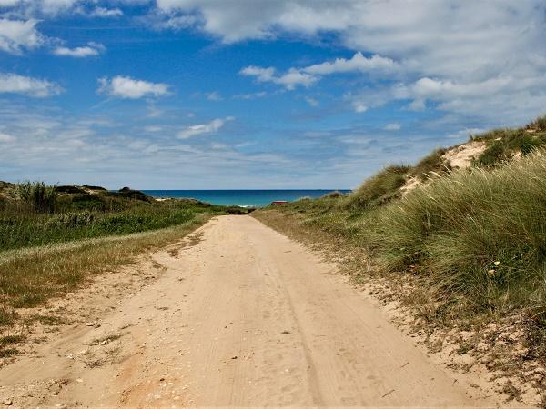 Ivano ha percorso un trekking in Portogallo di 350 km: partito da Porto Covo, è arrivato alla punta più meridionale.