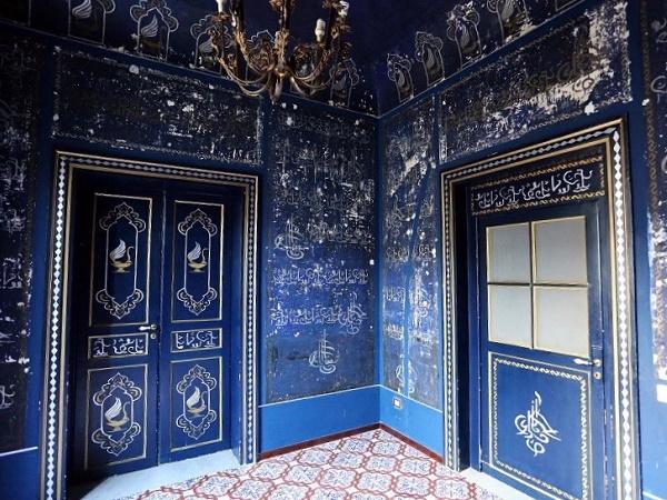 La Camera delle Meraviglie, una delle testimonianze lasciate dagli Arabi a Palermo e scoperta di recente.