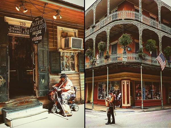 New Orleans si racconta attraverso la sua gente, sempre pronta a ricominciare a sorridere e a far festa, anche nei momenti di difficoltà.