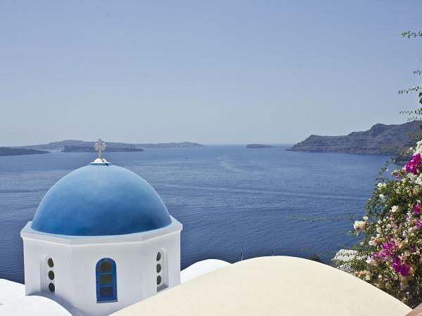Santorini, un'isola tanto piccola quanto unica, che rapisce i sensi.