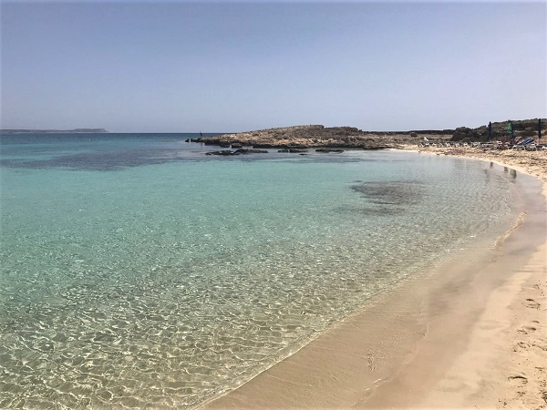 La spiaggia dell'isola di Porto Santo è una sola e percorre la costa meridionale per circa 10 km.