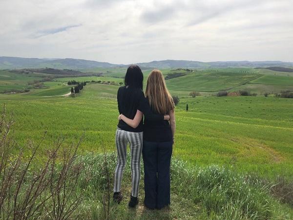 Un viaggio di sole donne in Toscana per festeggiare un traguardo importante.