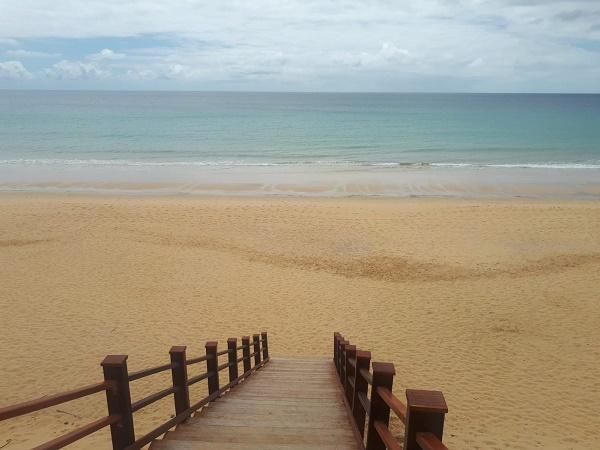Respiro l'aria dell'Atlantico e so che tornerò presto sull'Isola dorata.