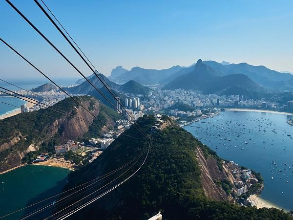 Il Brasile è immenso, bellissimo e popoloso.