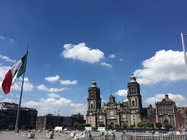 """Plaza de la Constitución è la piazza principale di Città del Messico, tutti la chiamano """"Zócalo""""."""