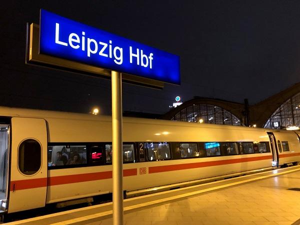 La stazione centrale di Lipsia si trova in centro città: comodissima.