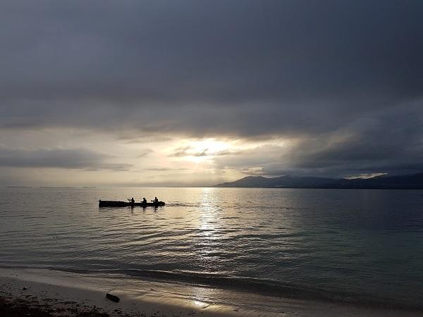 Le isole San Blas, arcipelago di oltre 360 isole al largo delle coste di Panamá, sono la terra della popolazione indigena Guna Yala