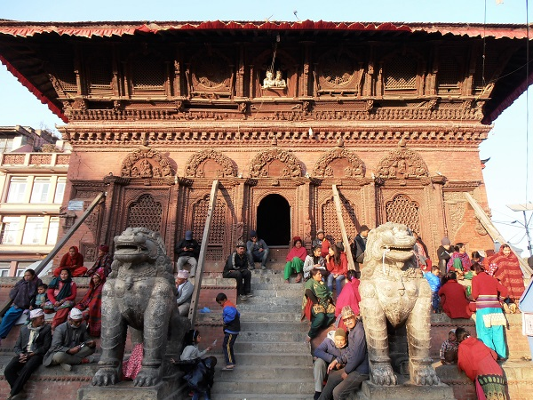 Durbar Square è il fulcro della città di Kathmandu, un labirinto di storia e di architettura.