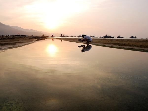 Da Nang, Vietnam, è fatta di mercati, incredibilmente grandi, puzzolenti ed economici e di spiagge bellissime, come la famosa My Khe.