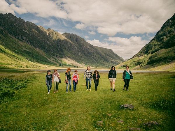 Quando mi è stato proposto di partecipare all'organizzazione di viaggi al femminile, la prima destinazione che è apparsa nella mia testa è stata la Scozia.