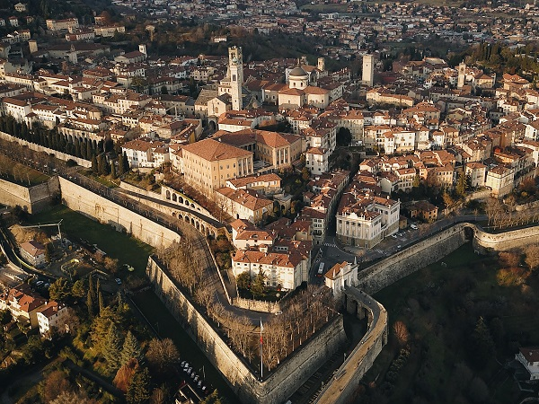 A Bergamo non ci abito, quindi posso farne una meta di viaggio.