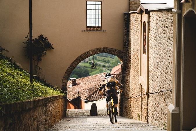 Nel pomeriggio gli stoici possono ripartire in mountain bike per un altro giro.