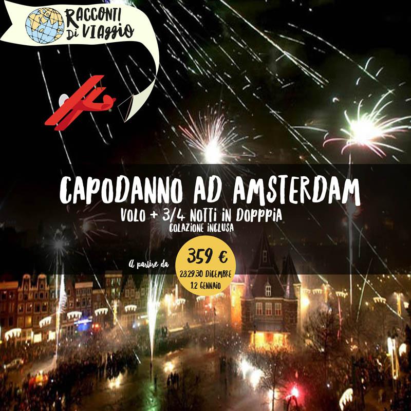 Offerte racconti di viaggio for Amsterdam capodanno offerte