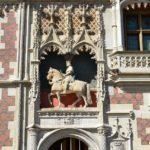 Particolare del castello di Blois