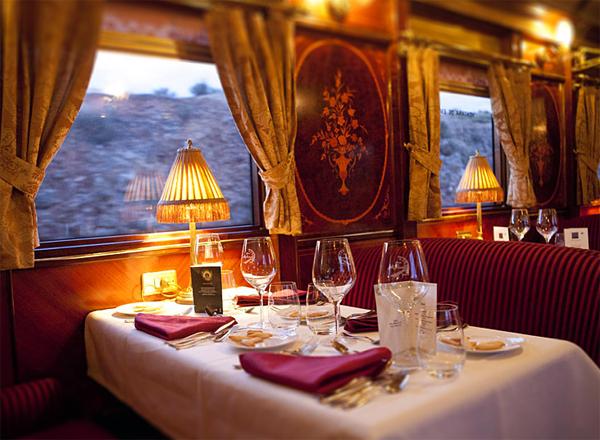 Il treno di lusso Al Andalus propone due itinerari in terra di Spagna.