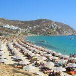 Spiaggia Elias di Mykonos