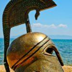 Elmo greco antico