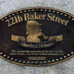 Targa al 221b di Baker Street
