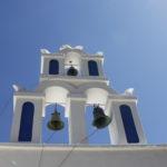 Chiesa tipica a Kamari