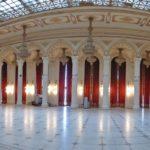 Interno del Palazzo del Parlamento