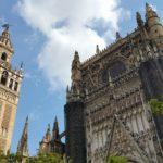 Cattedrale di Siviglia con la torre della Giralda