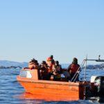 Le barche con cui si effettuano le escursioni