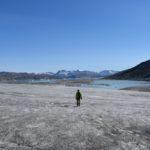 Passeggiata sulla calotta polare