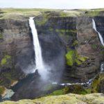 La cascata più alta d'Islanda: Haifoss
