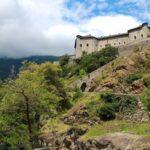 Forte di Bard visto da sud