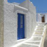 Tipica casa bianca di Santorini