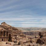 Veduta del Monastero di Petra