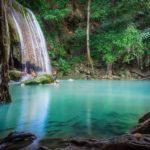 Bagno alle cascate Erawan