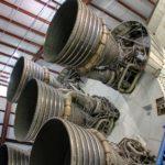 Particolare del motore Shuttle
