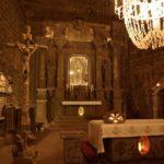 Cattedrale di sale nelle miniere di Wieliczka