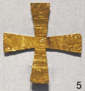 Crocetta Longobarda conservata a Cividale