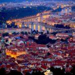 Veduta aerea di Praga