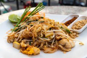 Piatto della cucina tipica thailandese