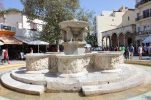 Heraklion, la fontana Morosini