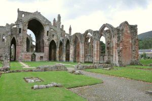 Resti dell'abbazia di Melrose