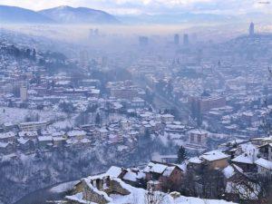 Sarajevo innevata
