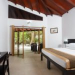 Camera del resort alle Maldive
