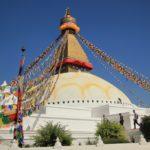 La grande stupa di Bodnath