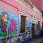 Street art nel centro storico di Bogotà