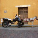 Le carrozze sono un buon modo per visitare il centro di Cartagena