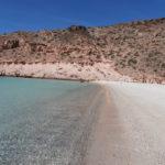 La spiaggia di Ensenada Grande sul mare di Cortez