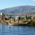Isola nel lago Titicaca