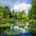 Uno scorcio di Giverny che sembra un quadro